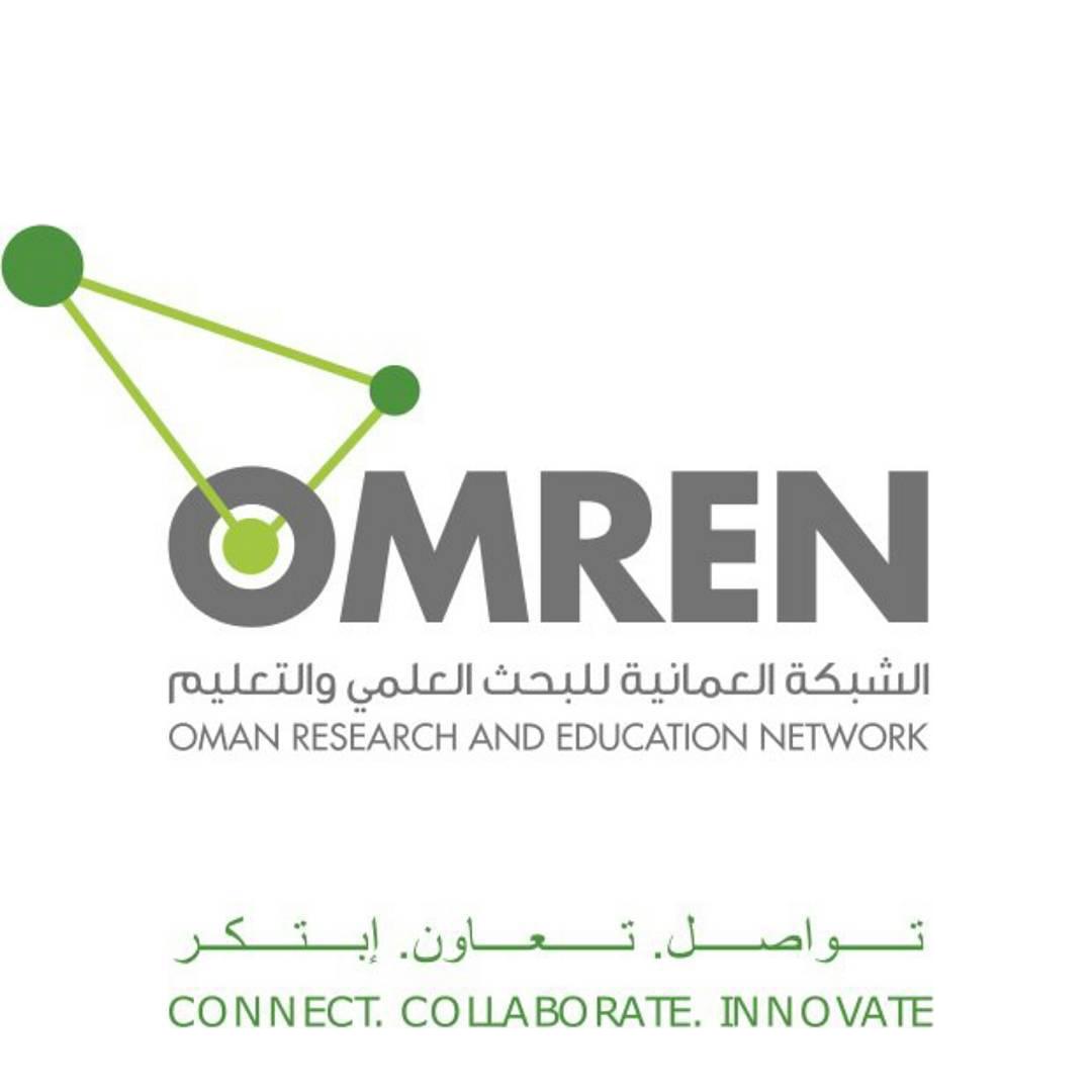 شعار الشبكة العمانية للبحث العلمي والتعليم